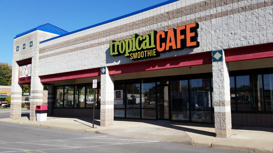 Tropical Smoothie's new location marks its 400th in the country.