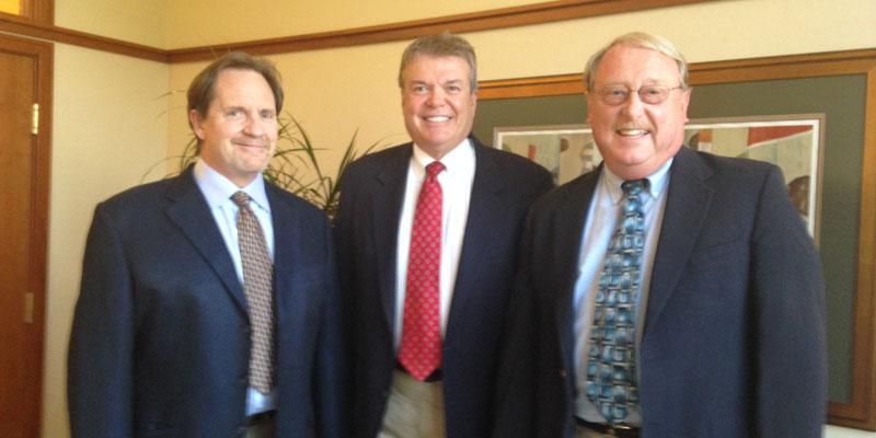 Dentists - Matt Lark, Larry Schmakel and Jim Zimmerman - Members of  the Toledo Dental Society - Opioid Awareness Task Force