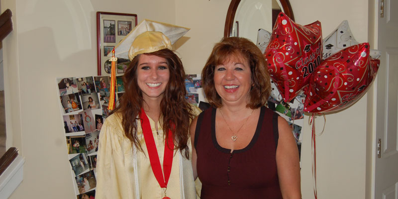 Marisa with mother, Karen Freiberger