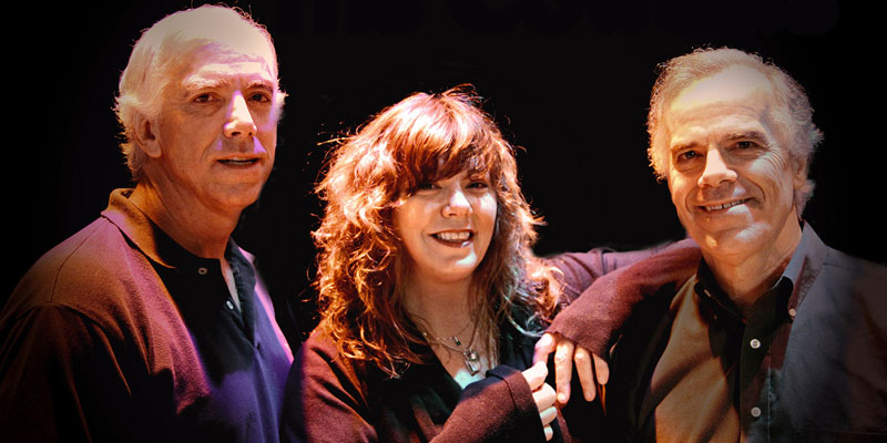 The Cowsills (L-R: Paul, Susan and Bob Cowsill). Photo courtesy Paradise Artists