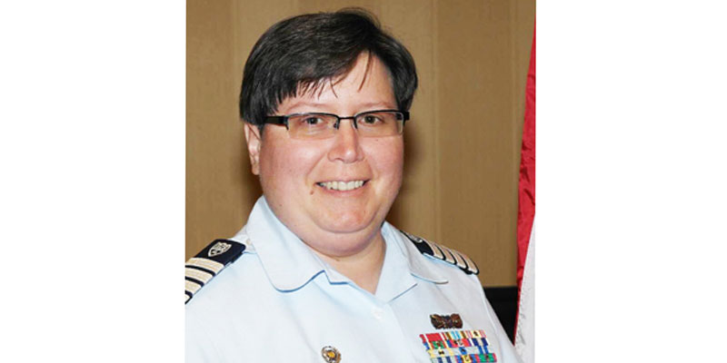Coast Guard Captain Cathie Slabaugh