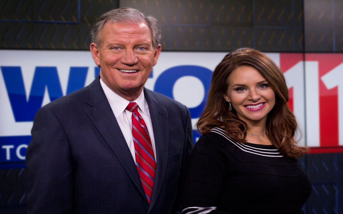 WTOL anchor team  Jerry Anderson & Kristi Leigh