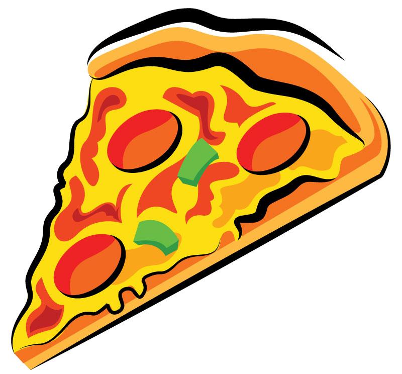 кусочек пиццы рисунок образом, этот волшебный
