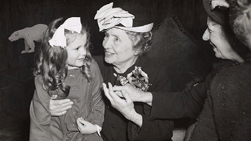 Helen Keller. Photo courtesy of www.afb.org.