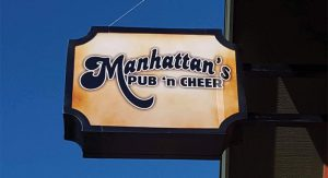 manhattans-sign