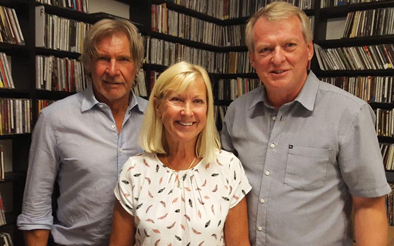 Harrison Ford Marianne Landin Producer and Bo Landin Director