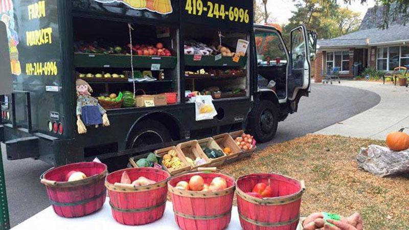 SeaGate Food Bank truck.