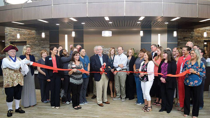 Vision Associates Ribbon Cutting.