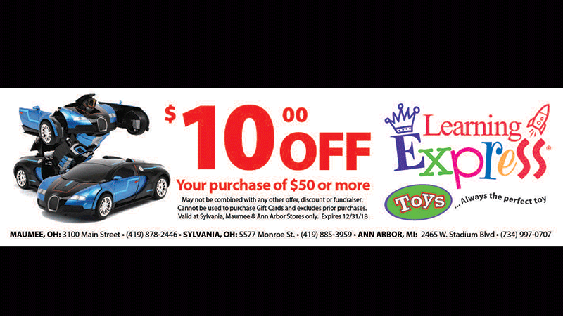Show this coupon at Learning Express!