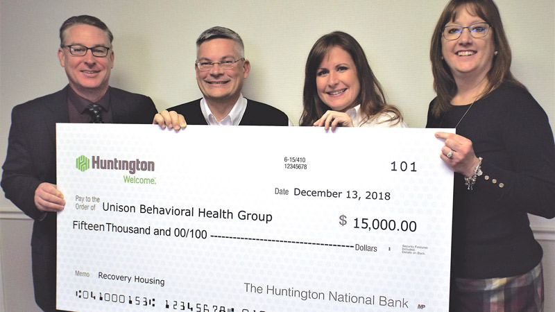 Donation to Unison Health