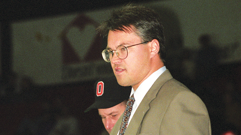 Greg Puhalski is fourth on the all-time Toledo Storm scoring list and helped lead the team to consecutive Riley Cups in the mid-90s. Photo Courtesy: Wilfrid Laurier University.