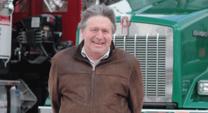 Dick Sachmann, Truck Driver for Advanced Auto Transport