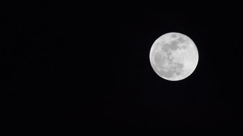 Meditation at Asana's Spring during full moon.