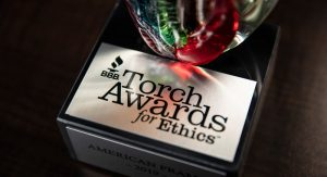 American Frame was honored with a Better Business Bureau Torch Award
