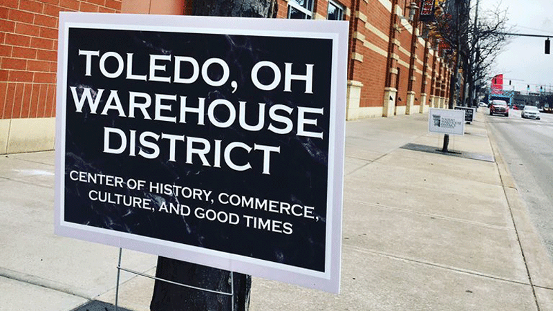 Wander the Warehouse District