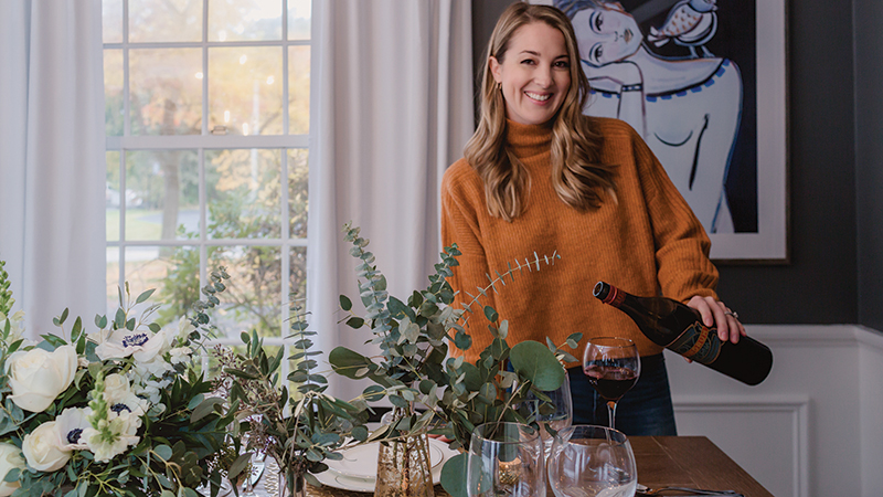 Lindsey Mahoney participated in the Better Homes & Gardens One Room Challenge, where designers renovate a room in six weeks while documenting their progress along the way.