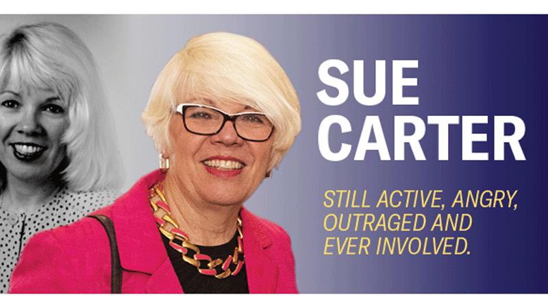 Sue Carter. Photo courtesy: Sue Carter.
