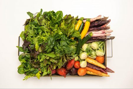 Image of healthy vegetables